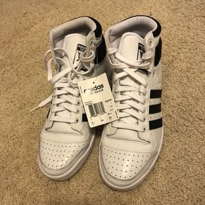 adidas Shoes - ADIDAS TOP TEN HI W (RUNNING WHITE / CORE BLACK)